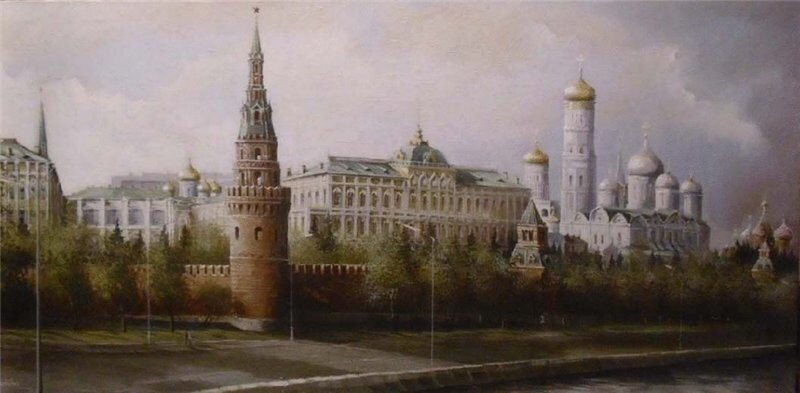 Уютные улочки и домики старой Москвы.