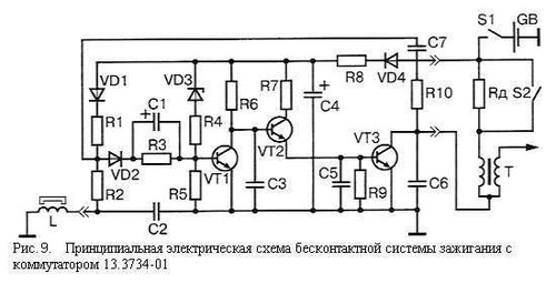 Схема коммутатор тк102а