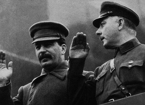 Сталин и Ворошилов