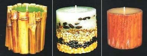 свечи своими руками необычное оформление