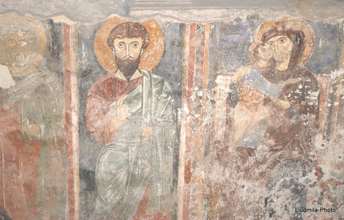 Фреска XIII века