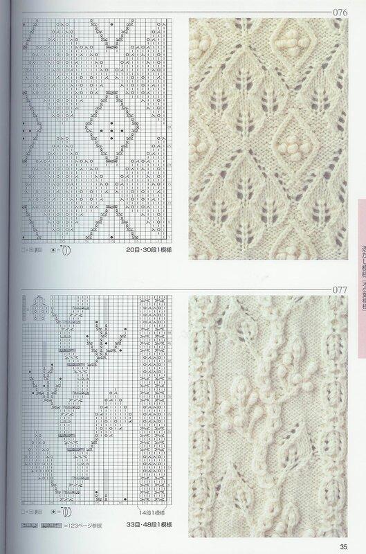 вязание на спицах следки схемы.