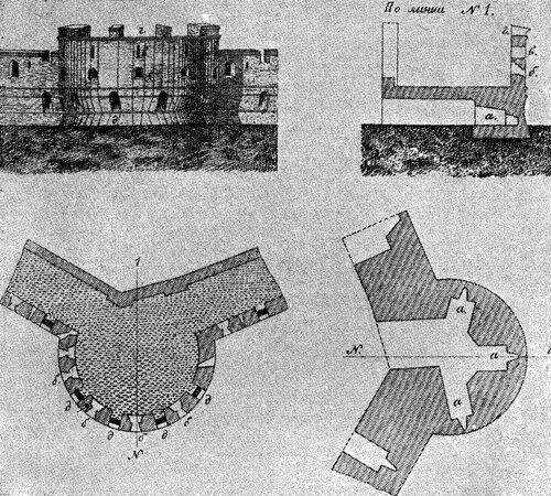 Угловая башня Китай-города (Ф.Ласковский)