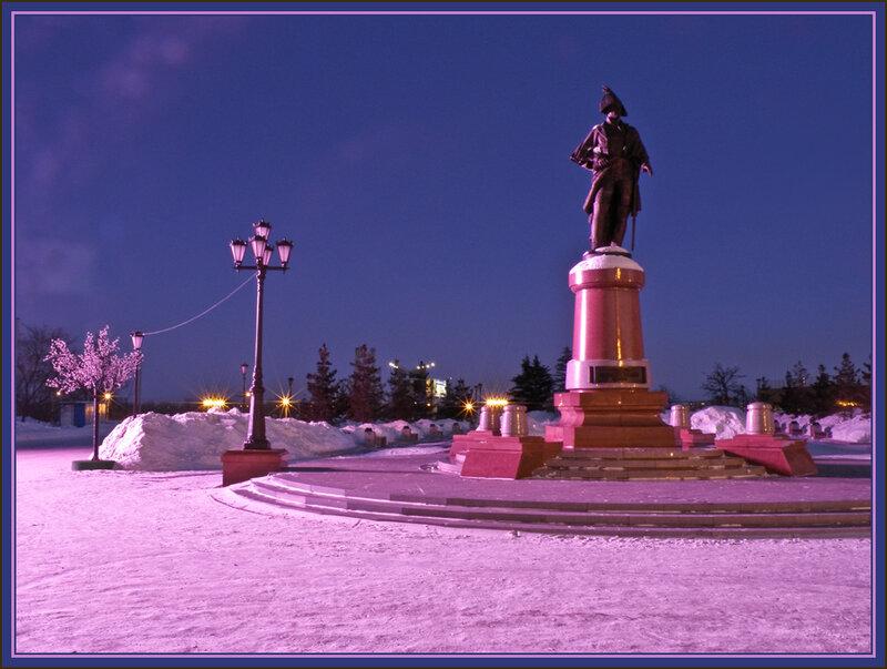 Памятник командору Резанову