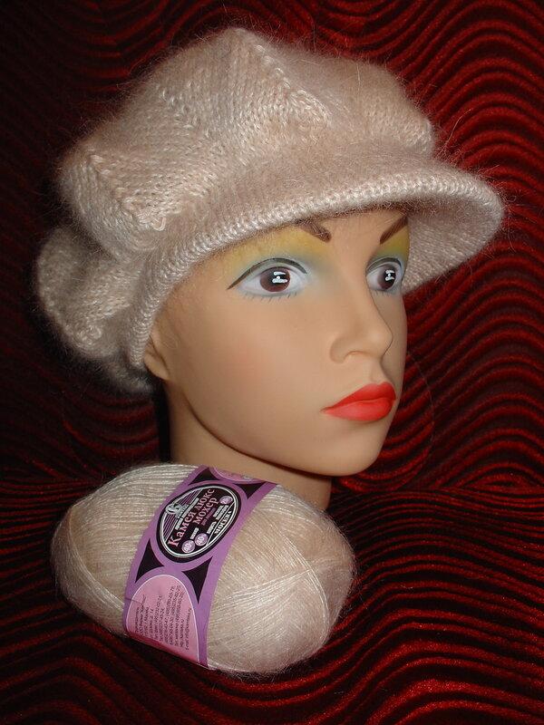 Вяжем кепки для женщин