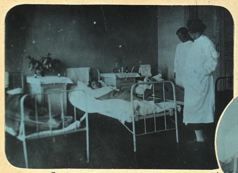 Родильное отделение в Пудинской больнице