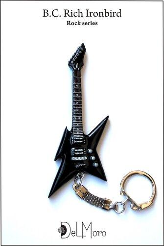 B.C. Rich Ironbird electric guitar keyring