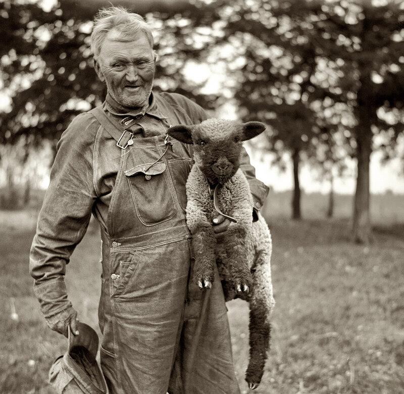 Фермер в Канзас сити,1936