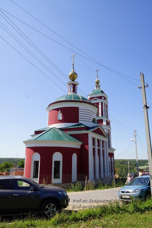 Храм Святителя Николая Чудотворца в Русиново, Калужская область