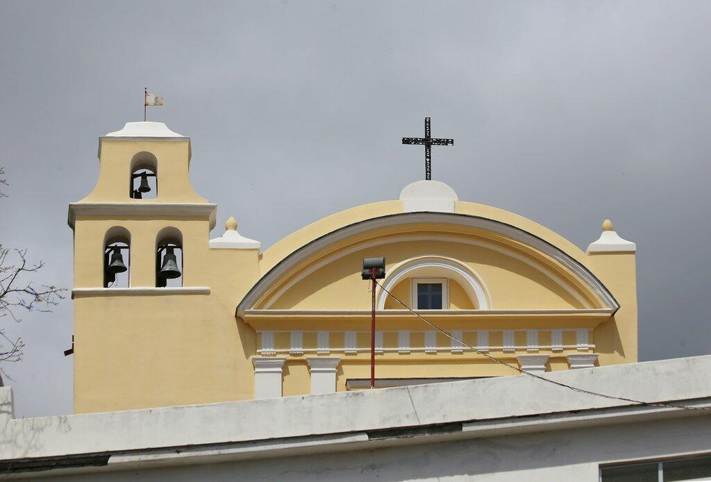 Искья, Серрара. Церковь Святого Винчесо Феррери (Cappella di San Vincenzo Ferreri)