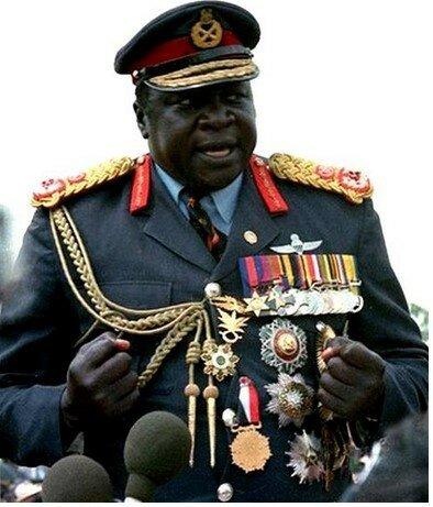 Угандийский диктатор Иди Амин Дада - один из самых одиозных диктаторов в истории