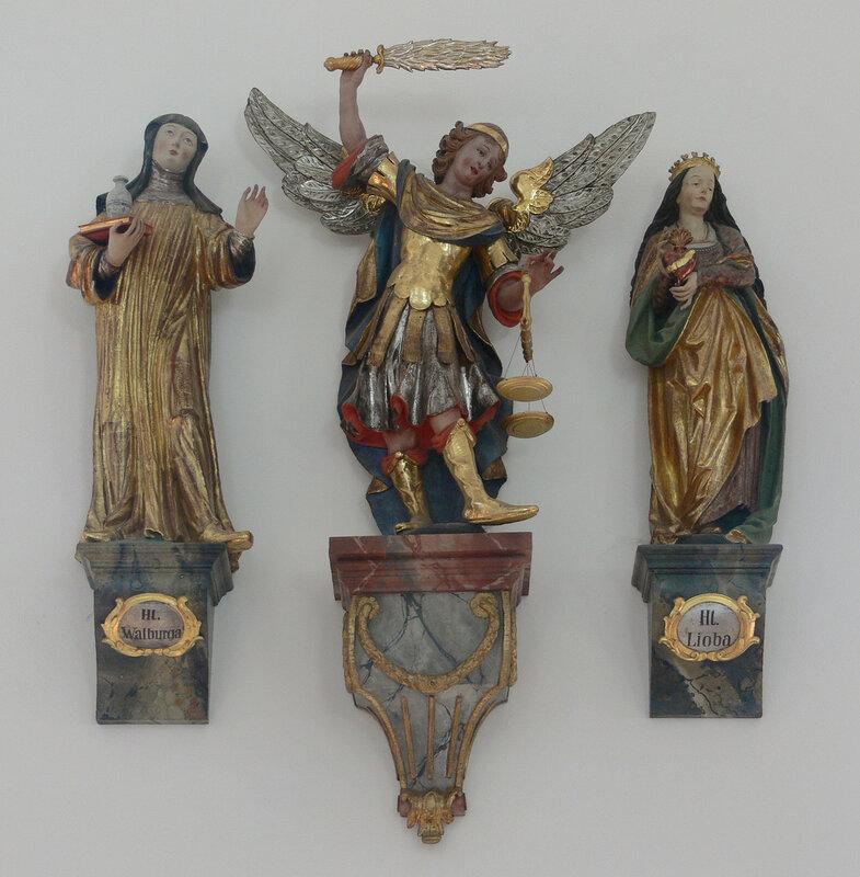 Waldburg Pfarrkirche Walburga Michael Lioba