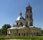 Троицкая церковь, Московская область, Ступинский район, село Троицкое-Лобаново.