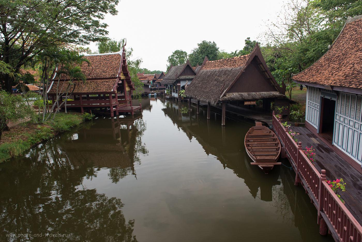 Фото 8. Рыбацкая деревня в историческом парке Mueang Boran на окраине Бангкока. Отзыв об отдыхе в Таиланде дикарями (320, 24, 8.0, 1/50)