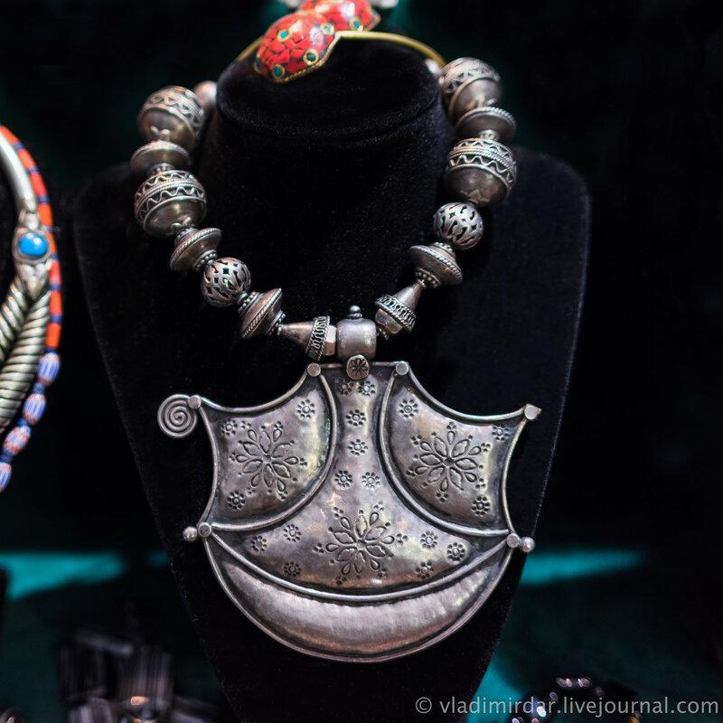 Женское украшение. XIX в. Серебро.