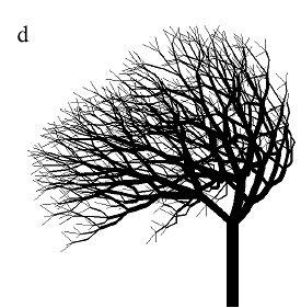 Рисунок 2.8d. Модели деревьев с тернарным ветвлением.
