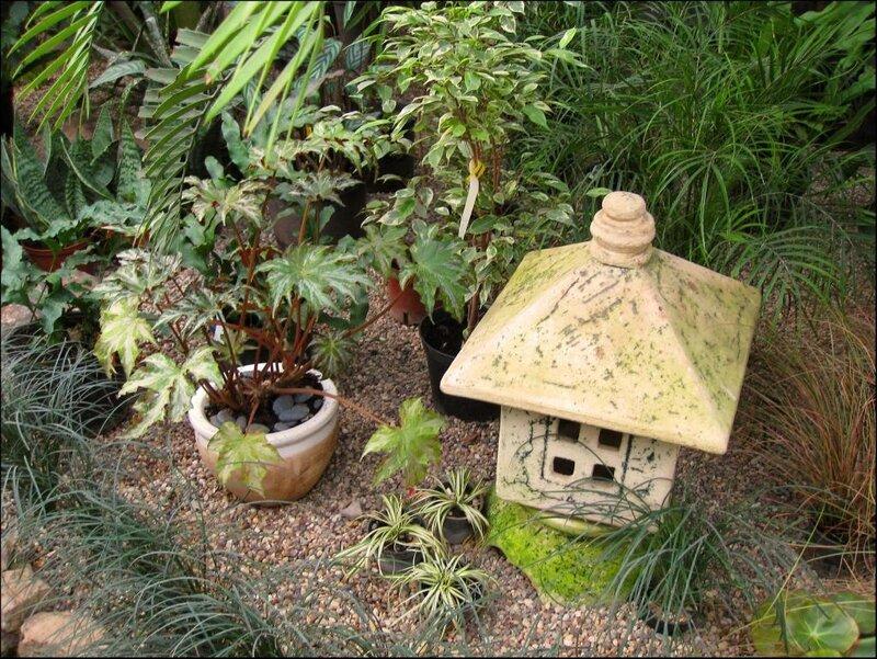 В японском садике