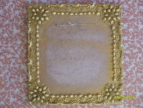 рамка для фото из макарон
