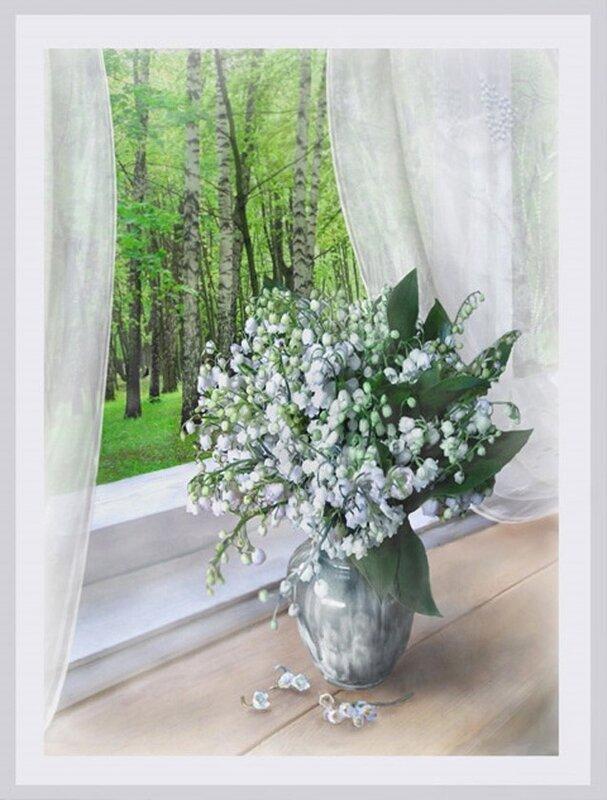 Ландыши, ландыши Светлого...  Ты сегодня мне принес Не букет из пышных роз, Не тюльпаны и не лилии.