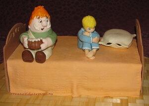 """Торт """"Малыш и Карлсон"""" (День Рождения Малыша)"""