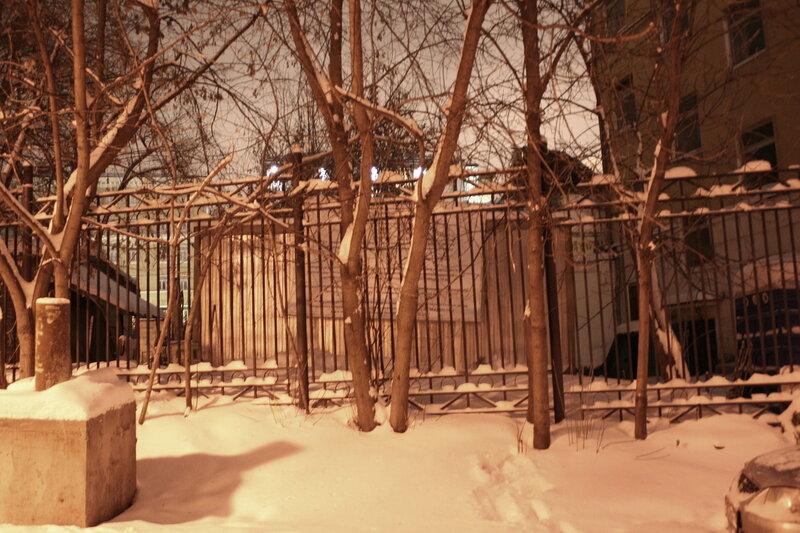 9\1\2010. Информационный щит по адресу Подколокольный пер. 11а строение 1