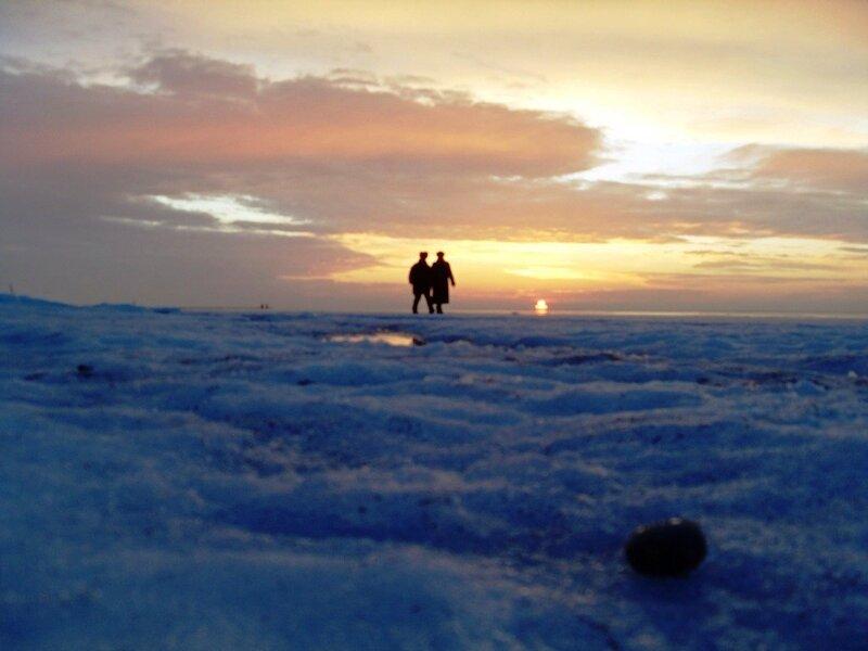 Лёд Ахтарского залива (20)