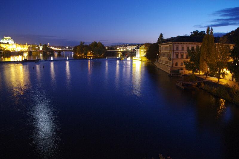 Ночная Прага 2