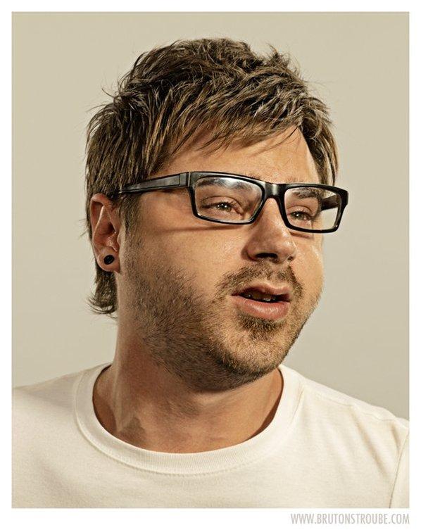 Brandon Voges: Upside Downy Face Portraits