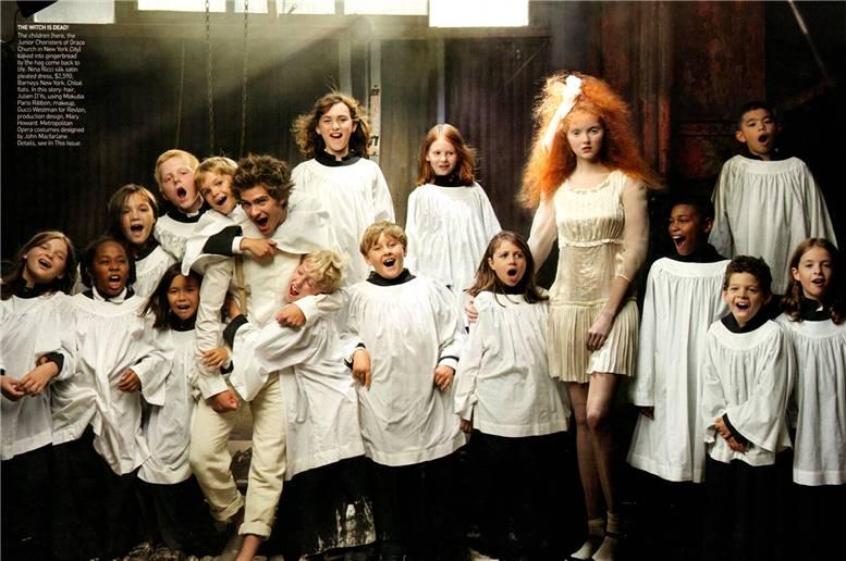 Little Girl & Boy Lost: Lily Cole, Andrew Garfield, Lady Gaga & Sasha Cooke
