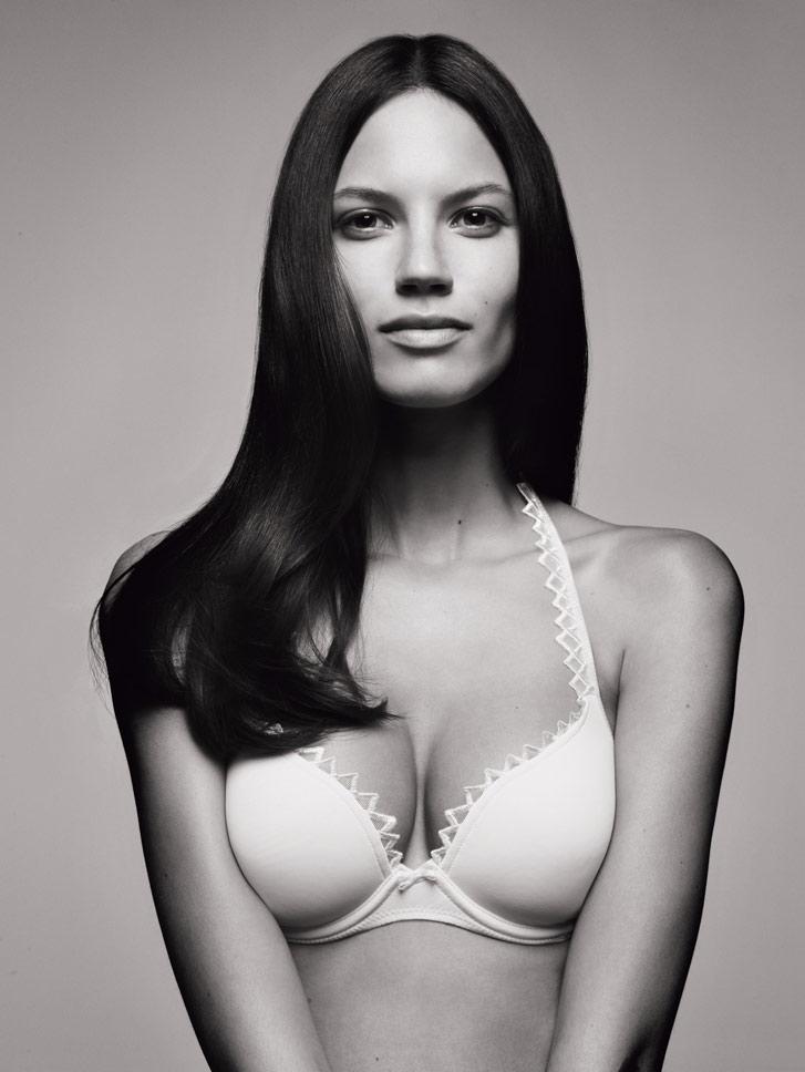 Danijela Dimitrovska в рекламе женского белья Marie Jo