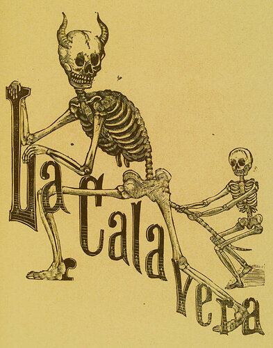 La Calavera.Jose Guadalupe Posada. Monografia; las Obras de Jose Guadalupe Posada. n.c. : n.p., 1930. Page 155.