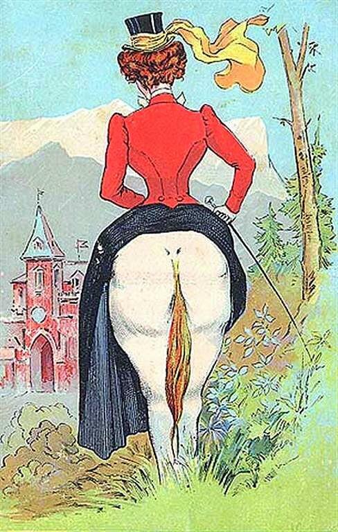 Сегодня у нас ретро юмор - юмор на старой открытке. Впрочем, многое