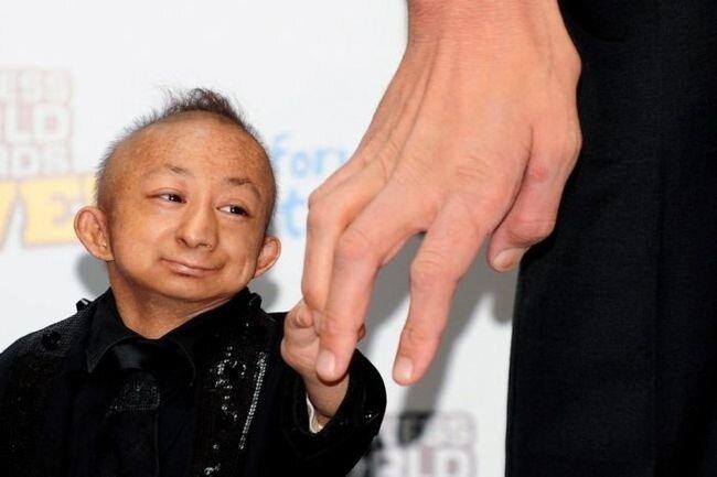 ...и самым маленьким, китайчонком, я бы...