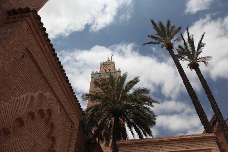 Марракеш - Мечеть Кутубия