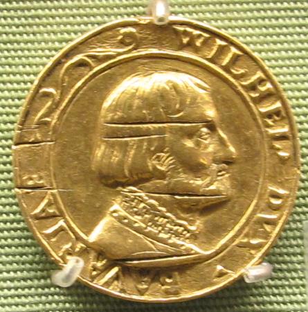 Ludwig_neufahrer,_duca_wilhelm_IV_di_Wittelsbach,_oro,_1534.JPG