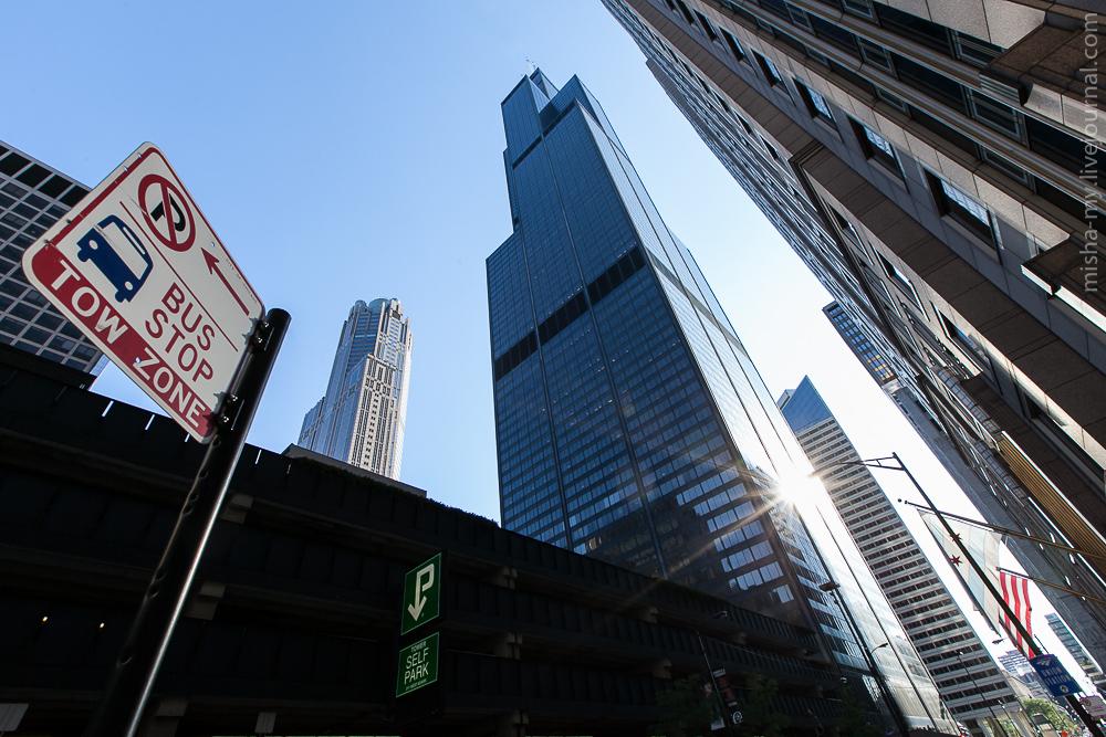 Чикаго панорама улиц