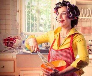 Женщины по-прежнему считают кухню главным местом в доме