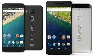 Google презентовала два новых смартфона Nexus