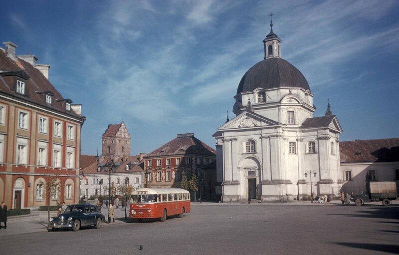 1960 Варшава Kazimierz and New Town Market1.jpg