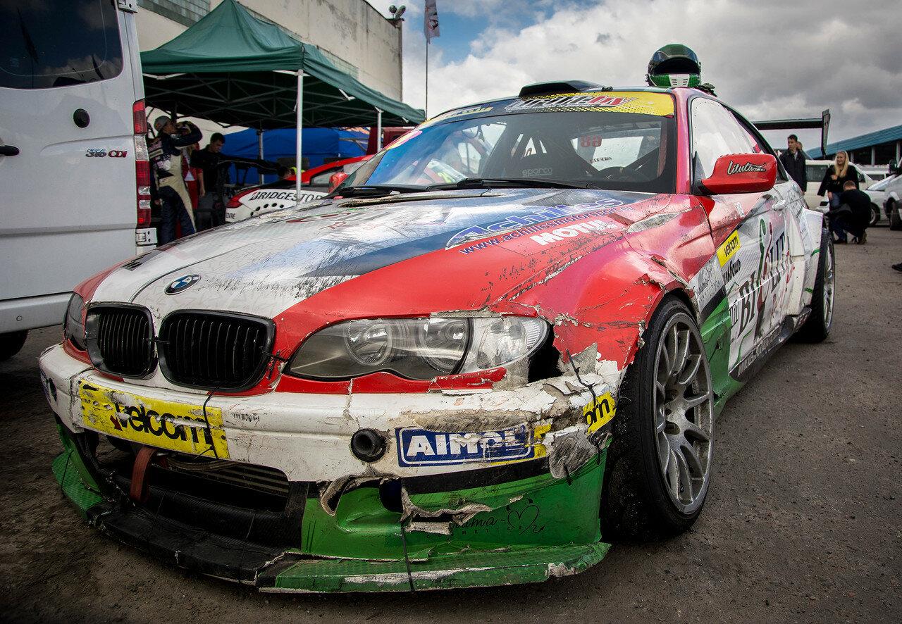 Победы не даются легко. Сергей Сак и его BMW E46