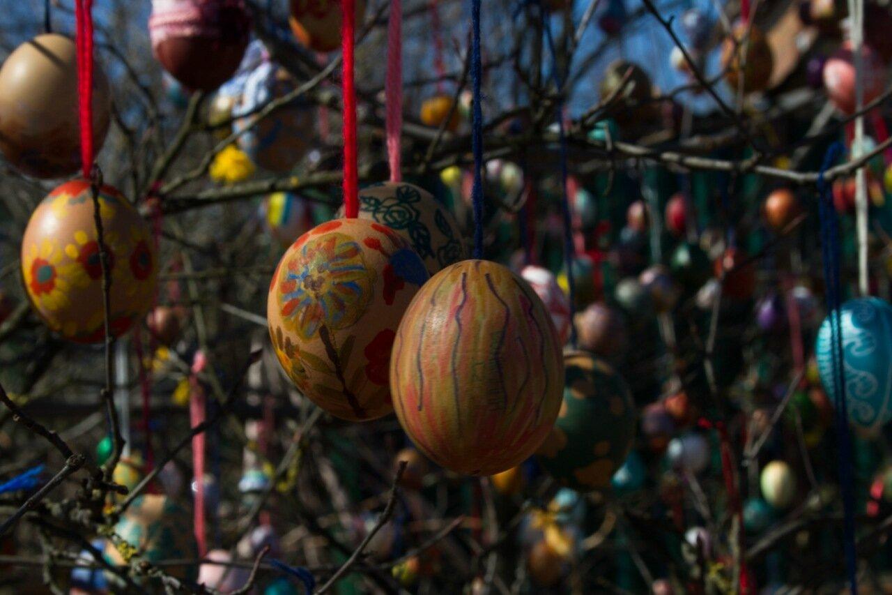 Пасхальные яйца, Дедовск