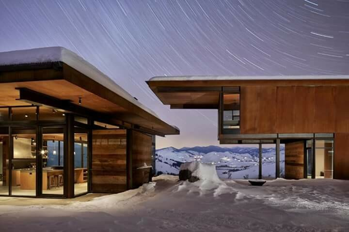 Прекрасный современный альпийский дом в штате Вашингтон