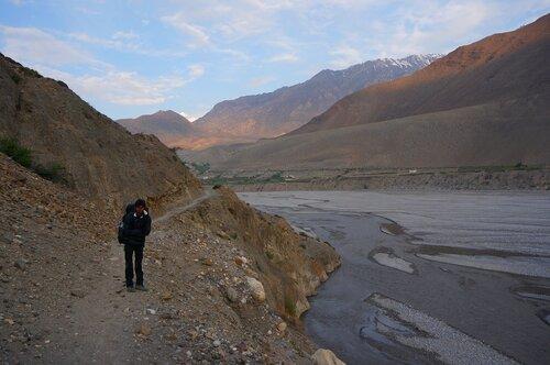 Вдоль русла реки Кали-Гаднаки