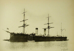 Вид крейсера Рюрик