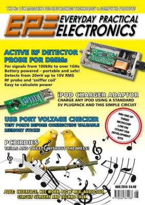 Журнал Журнал Everyday Practical Electronics №8 (August 2014)