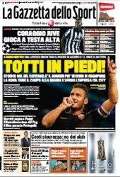 Журнал La Gazzetta dello Sport  (1 Ottobre 2014)