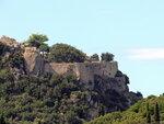Angelocastro  - развалины крепости на горе над Палеокастрицей