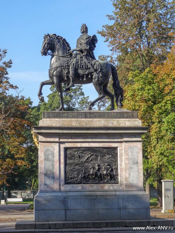 Памятник прадеду от правнука