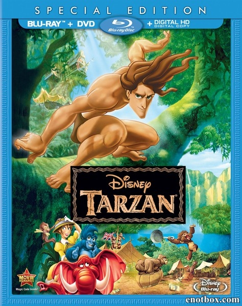 Тарзан / Tarzan (1999/BD-Remux/BDRip/HDRip)