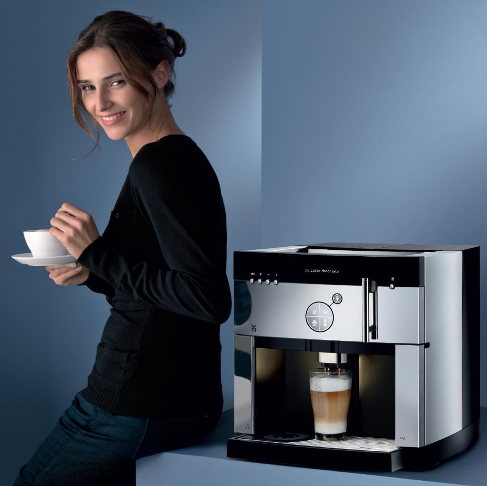 кофемашины из Германии WMF качество приготовления кофе - краснодарский магазин кофе - кофе в краснодаре